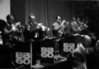 Big Band 60 brass section