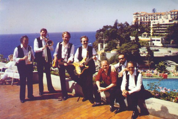 Salty Dogs im Sheraton Funchal, Madeira